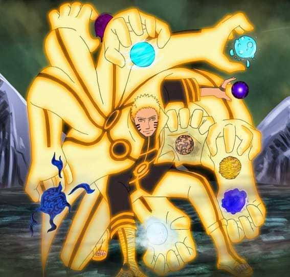 Naruto new form