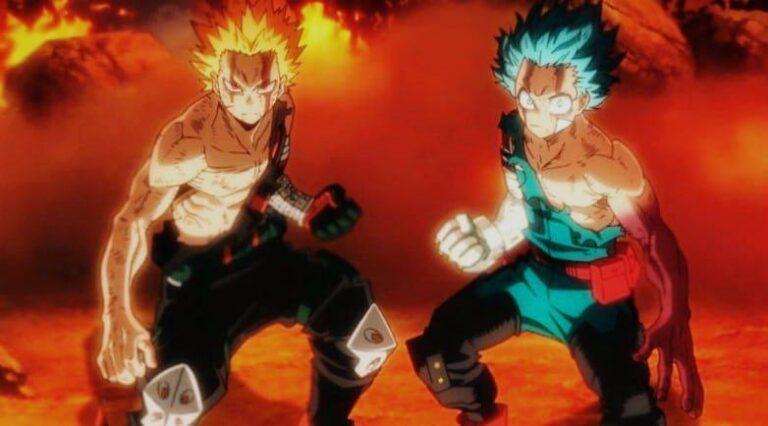 Deku vs Bokugo My Hero Academia