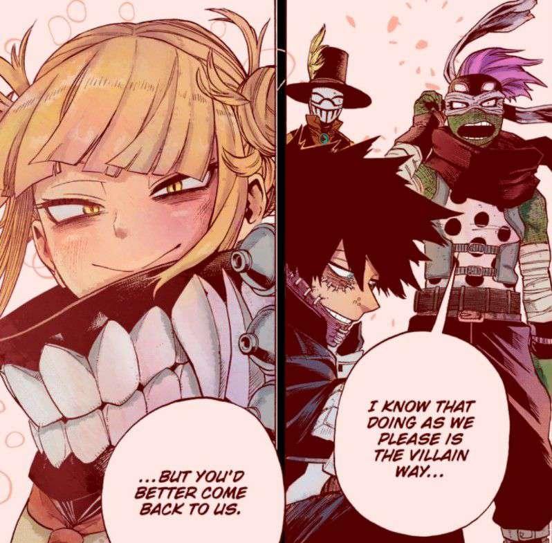 My Hero Academia Chapter 295