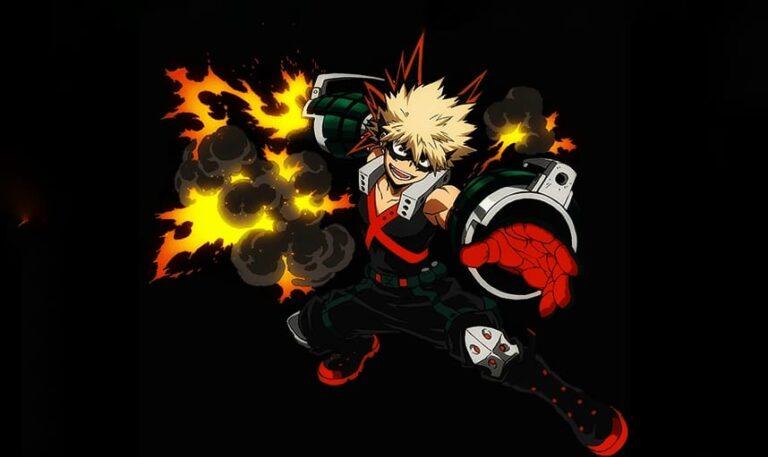 Bakugo Hero Name My Hero Academia Chapter 293