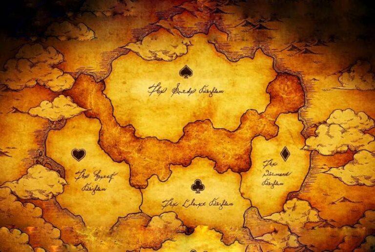 Black Clover map