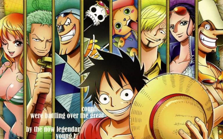 One Piece 8th most watched