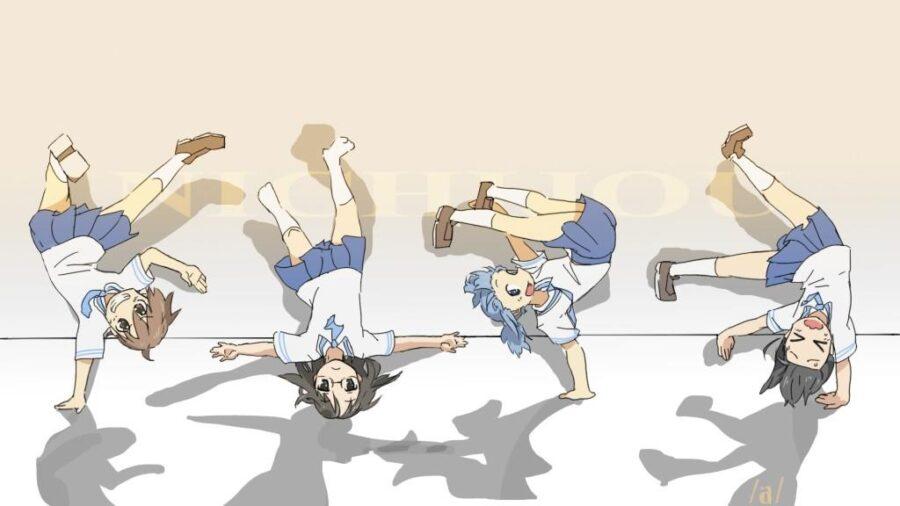 Top 10 Slapstick anime