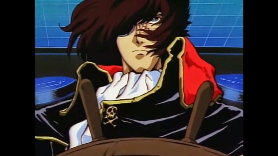 Space captain pirate harlock watch order
