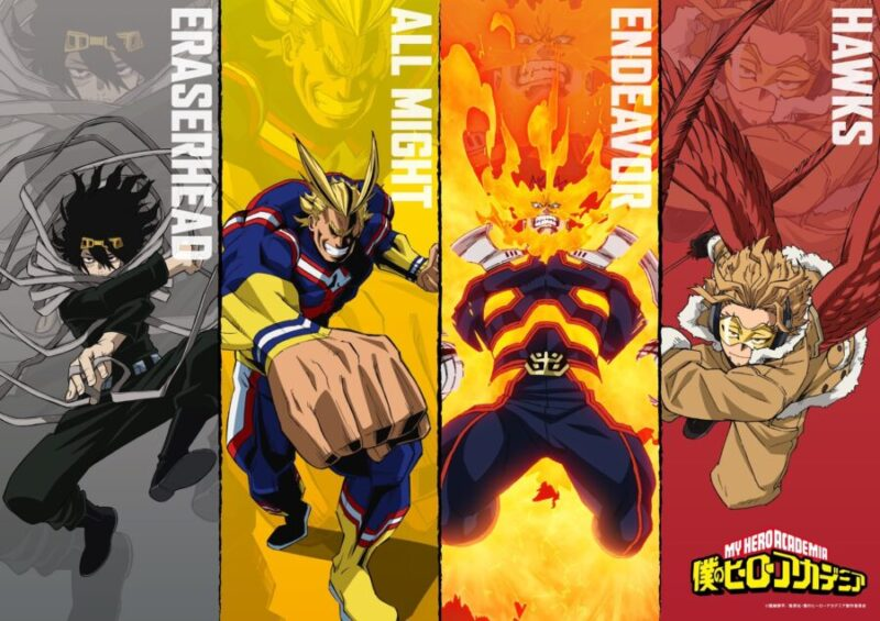 My Hero Academia Character 4 visuals
