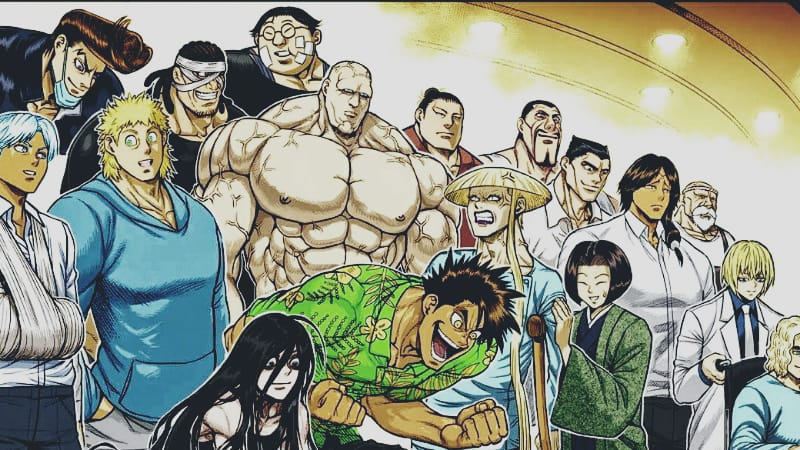 Top 20 Strongest Fighters in Kengan Ashura series Ranked