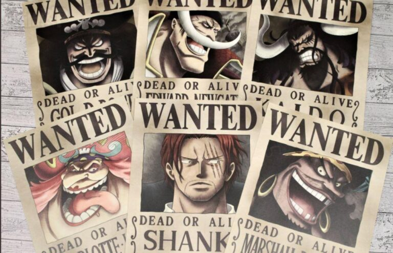 One Piece New Wanted Posters