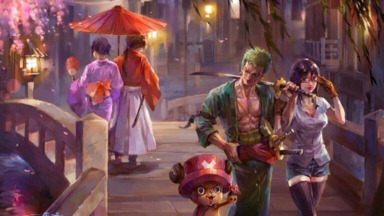 Rurouni Kenshin One Piece Oda Watsuki
