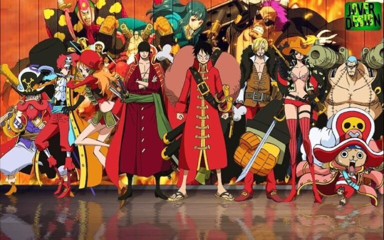One Piece Ribon Collaboration