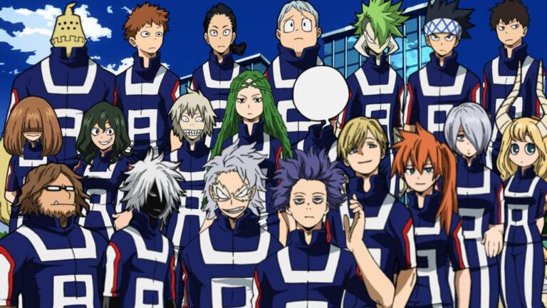 My Hero Academia class 1 b