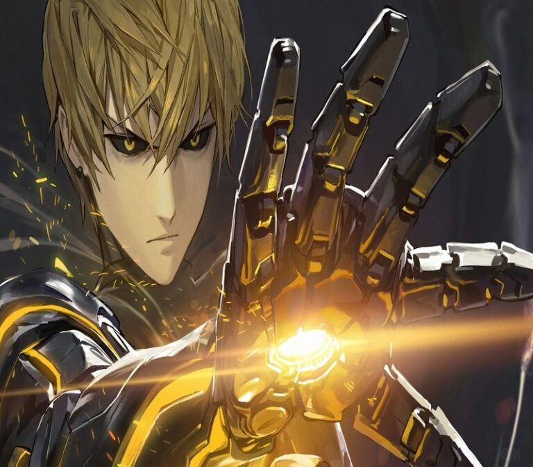 Power of Genos in One Punch Man