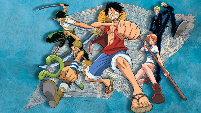 one piece main poster