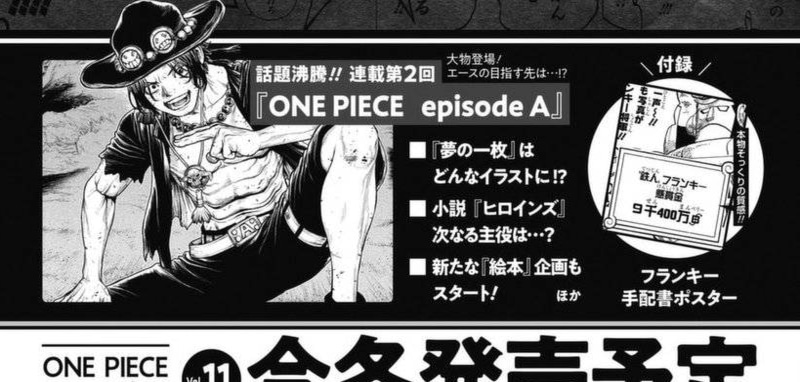 One Piece Magazine Volume 11