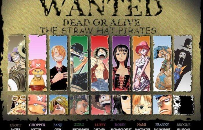One Piece total bounty