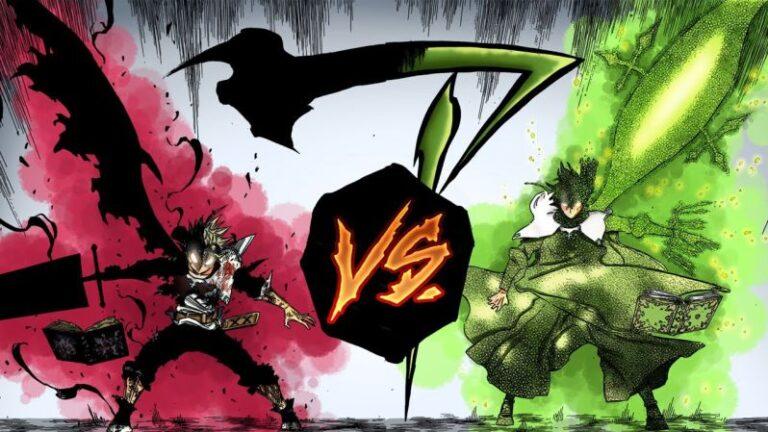 Asta vs Yuno (Black Clover)