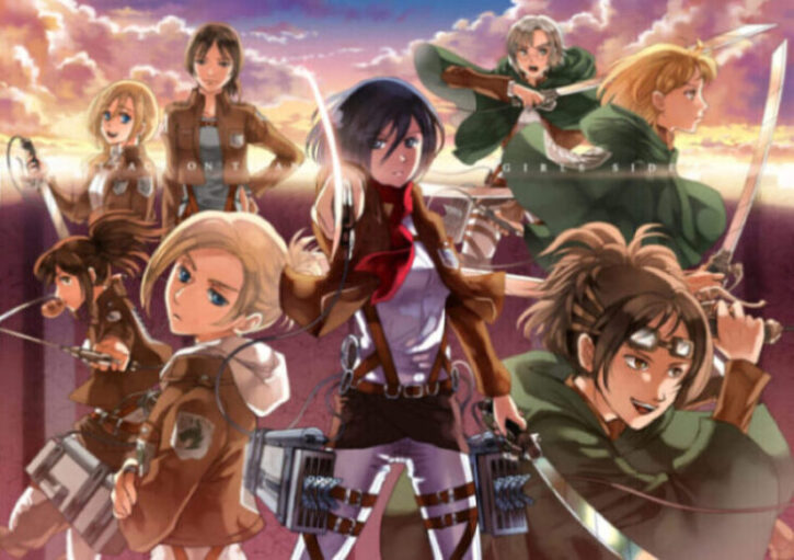 Hottest Female Characters in Attack on Titan