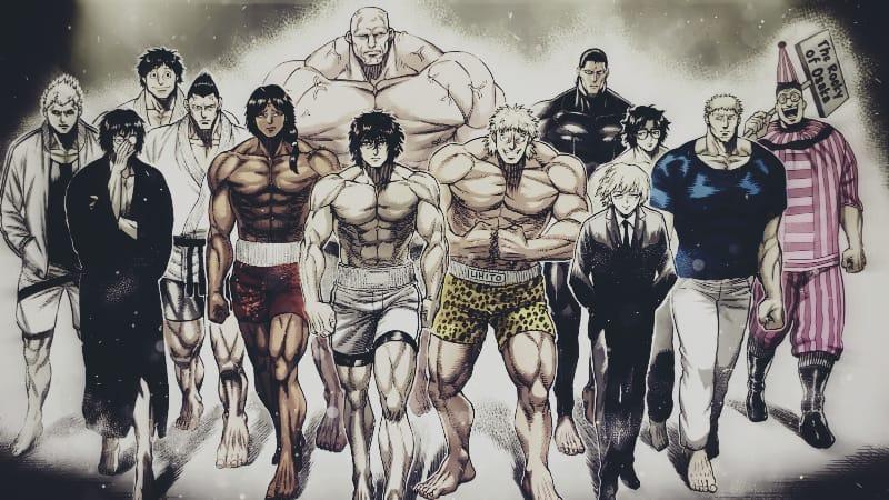 Strongest Kengan Fighters in Kengan Omega