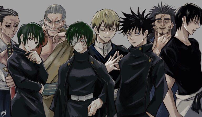 Strongest Members of Zenin Family in Jujutsu Kaisen Ranked