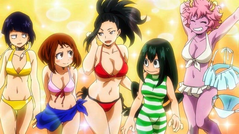 My Hero Academia Sexiest Female Characters