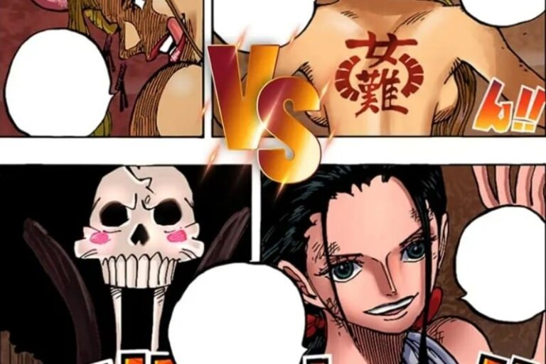 One Piece Chapter 1021 Raw Scans & Spoilers