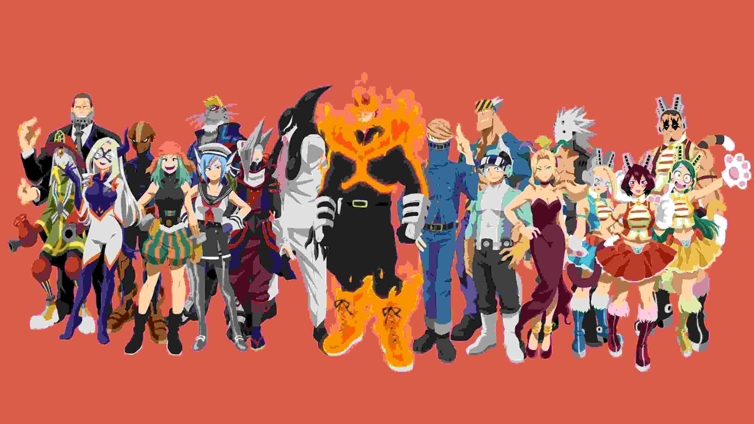 MHA heroes (My Hero Academia)