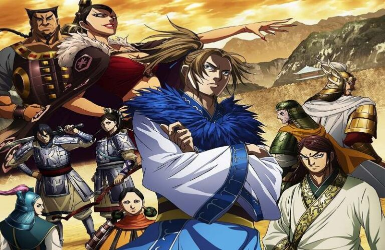 Various characters from Kingdom series