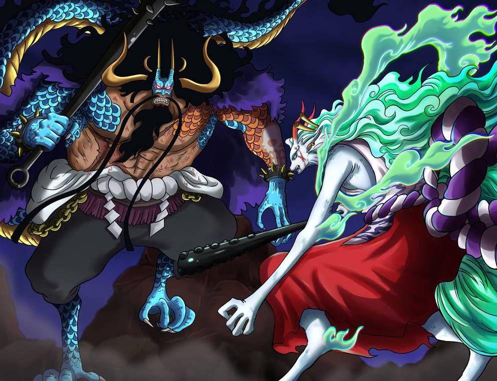 Kaido vs. Yamato One Piece