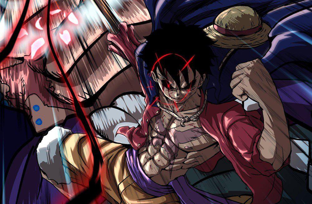 Luffy and Kaidou