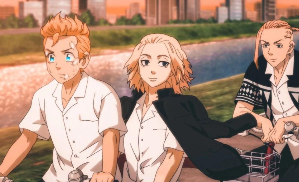 MIkey, Takemichi and Draken