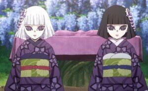 Kuina dan Kanata Ubuyashiki (Pembunuh Iblis)