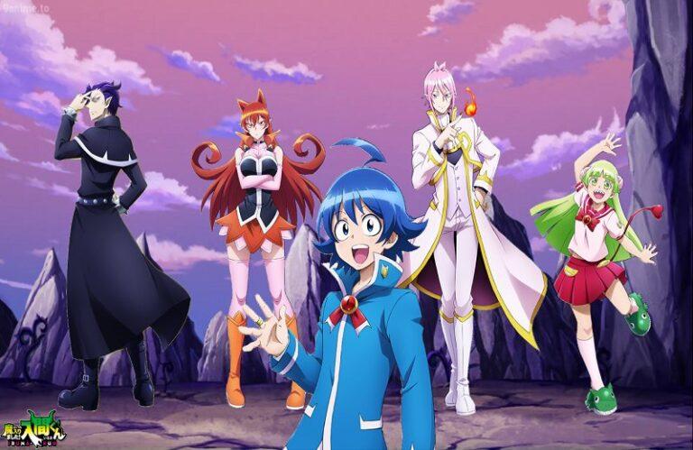 Different Characters from Welcome to Demon School! Iruma-kun